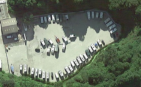 Aerial image of storage compound