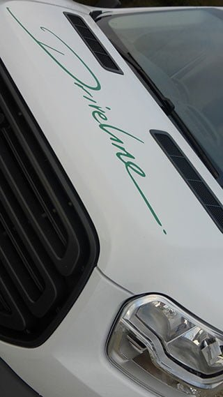 Driveline Logo on Van