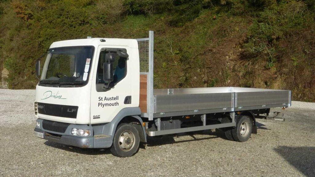 Driveline 7.5T dropside truck