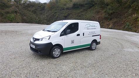 Driveline small car derived Van