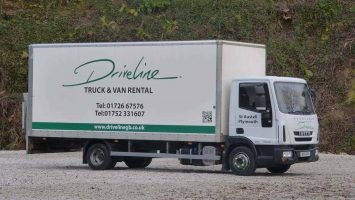 Driveline 7.5T box truck with taillift